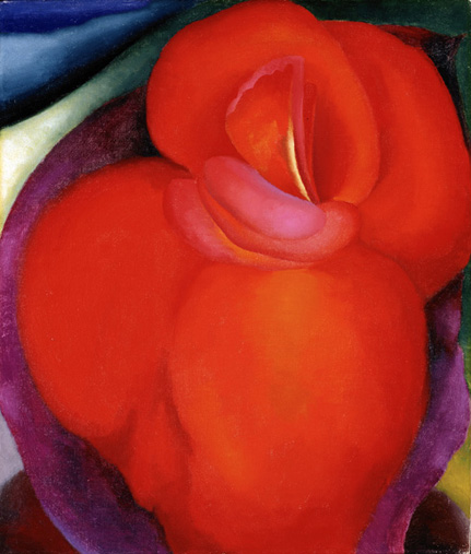 O'Keeffe - Red Flower - Norton