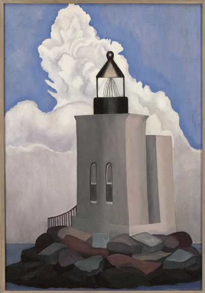 Torr - White Cloud (Light House)- Private Collection