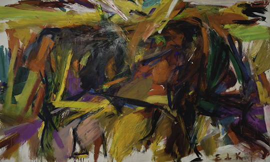 Elaine de Kooning_Bullfight_1959
