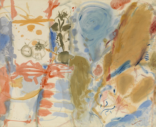 Helen Frankenthaler_Western Dream_1957