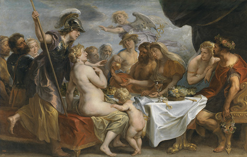 Jordaens%2c-Marriage-of-Peleus-and-Thetis-Online