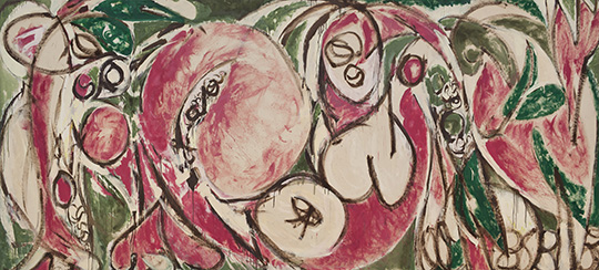 Lee Krasner_The Seasons_1957