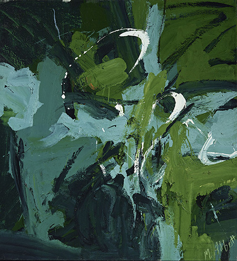 Mary Abbott_All Green_1954