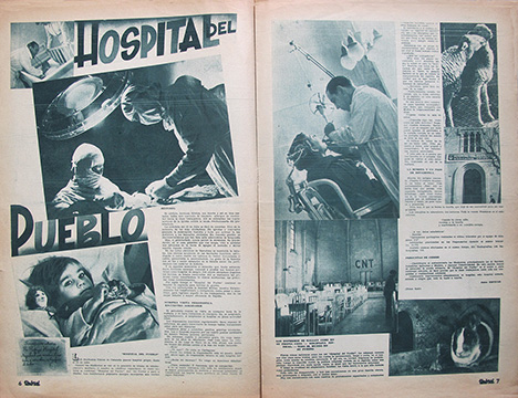 "4. ""Hospital del pueblo"" [The People's Hospital] published in Umbral 27, 1938"