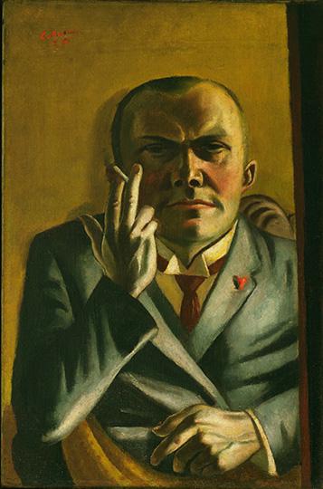 2-max-beckmann-in-new-york_beckmann_self-portrait-with-a-cigarette_museum-of-modern-art-new-york