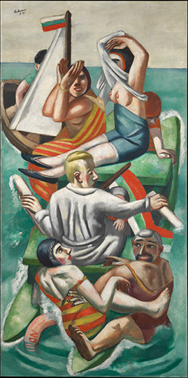 6-max-beckmann-in-new-york_beckmann_the-bark_richard-l-feigen-new-york