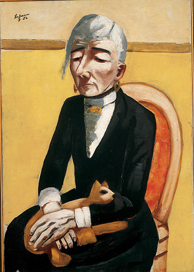 7-max-beckmann-in-new-york_beckmann_the-old-actress_private-collection-new-york