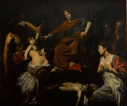 Valentin de Boulogne (1594-1632). Paris, musÈe du Louvre. INV8246.