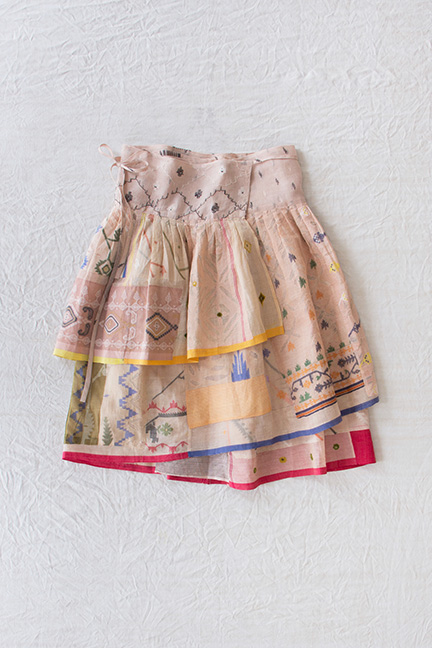 Eungie skirt, 2008 collection. Designed by Christina Kim (American b. South Korea 1957), produced by dosa inc. (Los Angeles, California).