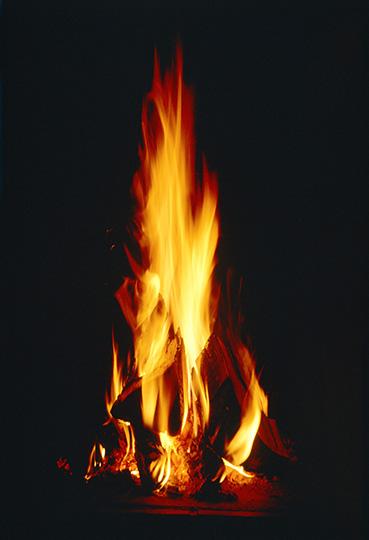 Open fire --- Image by © Helmut Meyer zur Capellen/Corbis