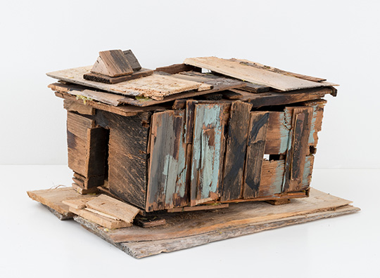 Beverly Buchanan (American, 1940ñ2015). Old Colored School (detail), 2010. Wood and paint, 20 1/4 x 14 3/4 x 18 1/2 in. (51.4 x 37.5 x 47 cm). © Estate of Beverly Buchanan, courtesy of Jane Bridges. (Photo: Adam Reich, courtesy of Andrew Edlin Gallery, New York)