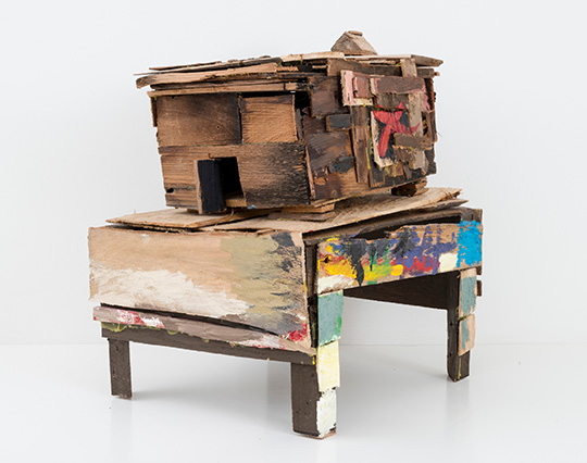 Beverly Buchanan (American, 1940ñ2015). Old Colored School, 2010. Wood and paint, 20 1/4 x 14 3/4 x 18 1/2 in. (51.4 x 37.5 x 47 cm). © Estate of Beverly Buchanan, courtesy of Jane Bridges. (Photo: Adam Reich, courtesy of Andrew Edlin Gallery, New York)