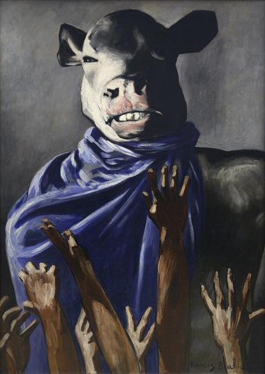L'adoration du veau Picabia Francis (1879-1953) Paris, musée national d'Art moderne - Centre Georges Pompidou