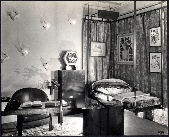 Alcove for Lord & Taylor, New York, 1928, designed by Pierre Chareau. Smithsonianís National Museum of American History.