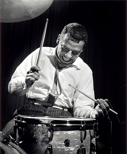 Buddy Rich, NYC, 1954 CODE: BDR01 provided to the Smithsonian March 2016 for one time use only