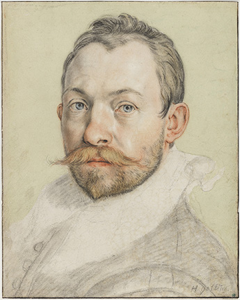 Hendrick Goltzius (Dutch, 1558-1617), Self Portrait. Nationalmuseum, Stockholm NMH 1867/1863.