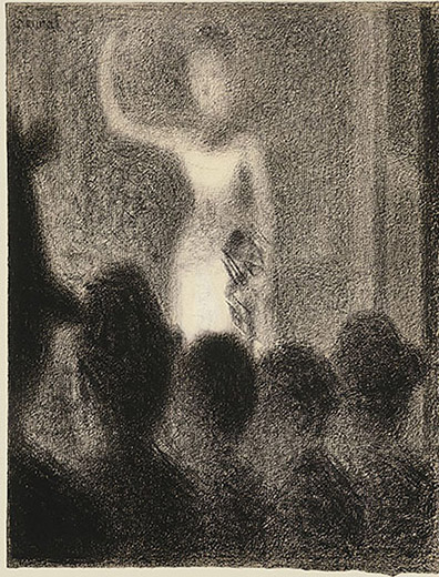 7-seurats-circus-sideshow_seurat_high-c_forte-chanteuse_private-collection