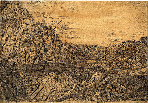 8-segers_mountain-valley-with-broken-pine-trees_british-museum_london