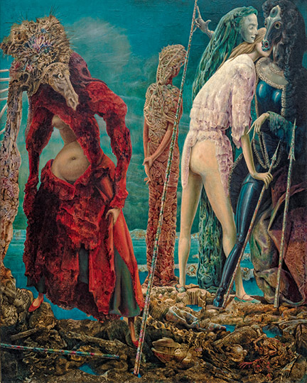 Max Ernst, The Antipope, December 1941–March 1942