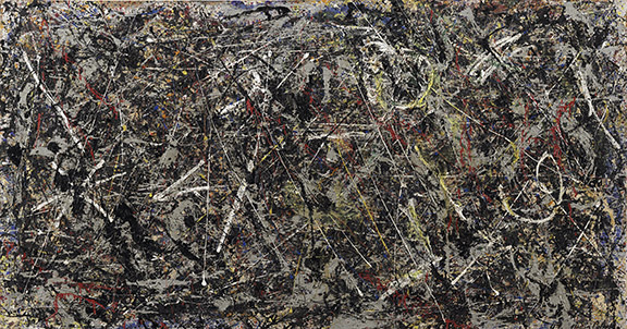 Post-restoration Jackson Pollock Alchemy