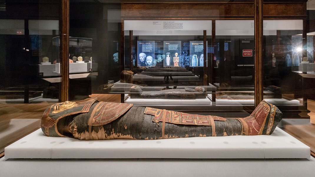 March 2017 - January 2018: Mummies from pre-Columbian Peru to ancient Egypt at the American Museum of Natural History