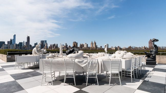 The Met Fifth Avenue Roof Top Garden: The Theatre of Disappearance by Adrian Villar Rojas, April 14 – October 29, 2017