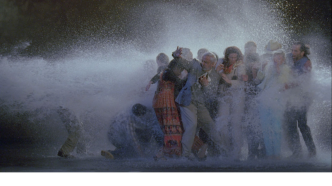 Bill Viola at the Smithsonian's National Portrait Gallery in Washington DC