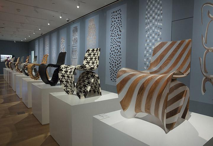 Installation view joris laarman lab design in the digital age