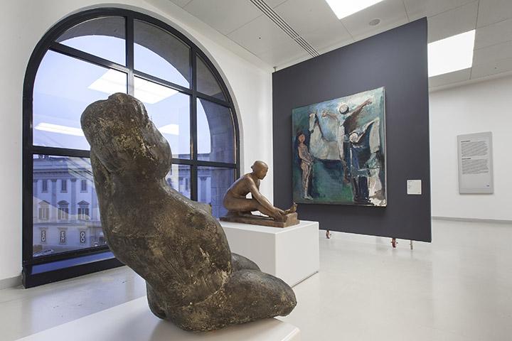 Museo Del 900 Milano.Novecento Nuovi Percorsi At Museo Del Novecento Milan From