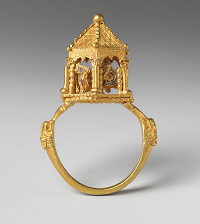 Jewish Wedding Ring-Italy