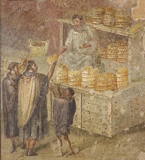 Bread (c) Museo Archeologico Nazionale di Napoli