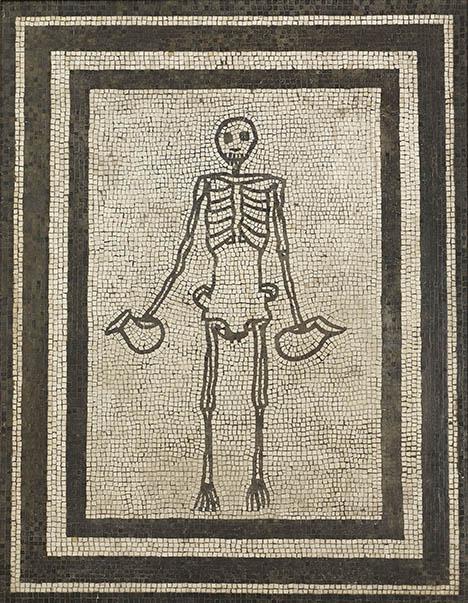 Skeleton (c) Museo Archeologico Nazionale di Napoli