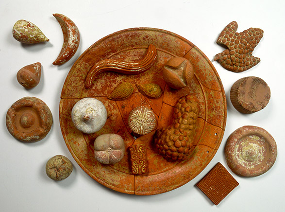 Terracotta food (c) Parco Archeologico di Paestum