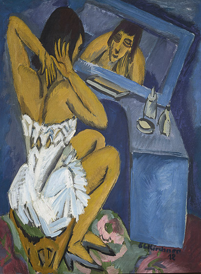 11. Ernst Ludwig Kirchner, The Toilette, 1913-20. Centre Pompidou, Paris