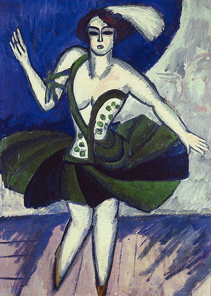 2. Ernst Ludwig Kirchner, The Russian Dancer Mela, 1911. Private Collection