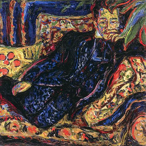 4. Ernst Ludwig Kirchner, Portrait of Hans Frisch, ca. 1907. McNay Art Museum, San Antonio