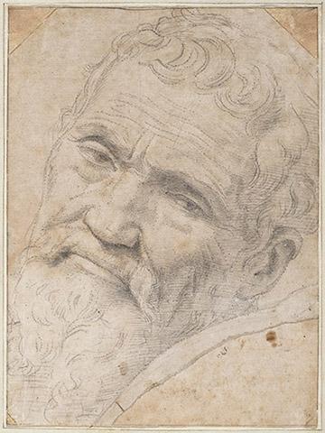 Portret Michelangelo Buonarroti