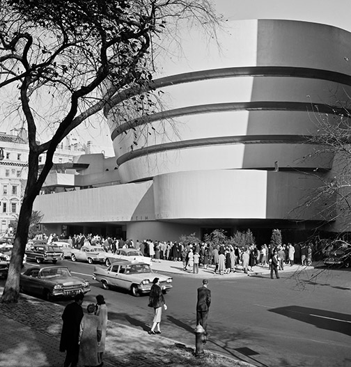 Public Opening at The Solomon R. Guggenheim Museum, New York