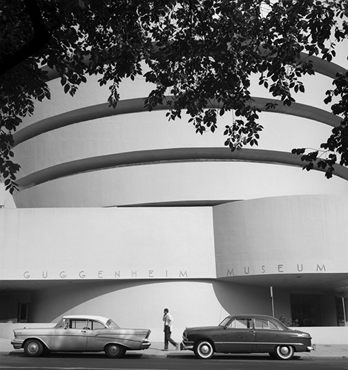 The Solomon R. Guggenheim Museum in New York, NY; 1071 Fifth Ave