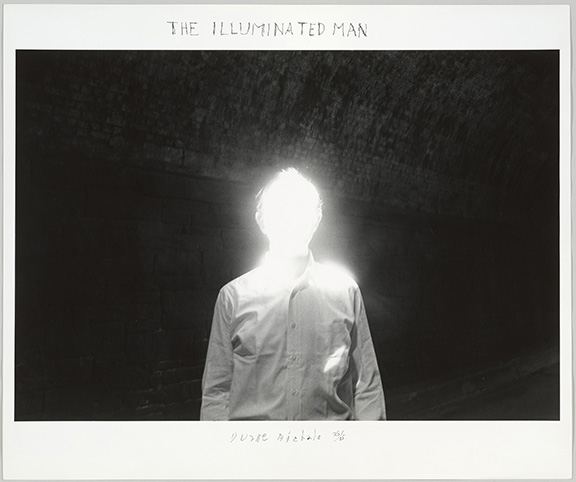 Michals, Duane, The Illuminated Man, 1968, 2018.37