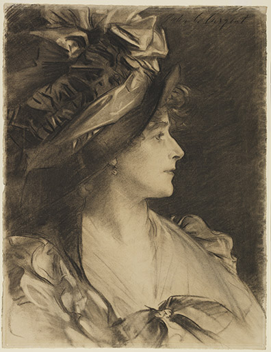 Gertrude Kingston, by Sargent