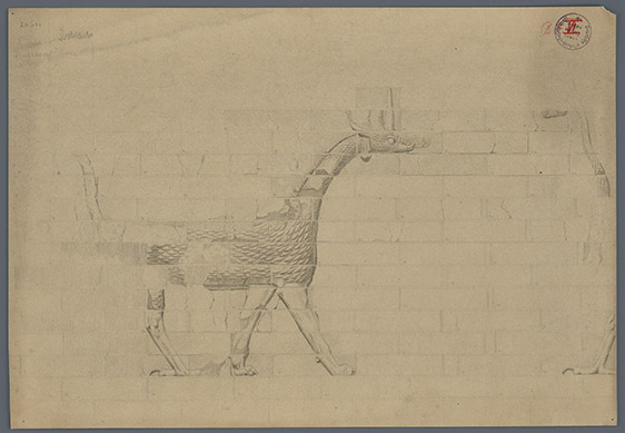 (14) Reconstruction of bricks with a mushussu dragon from the Ishtar Gate_ArDOG V 28 41