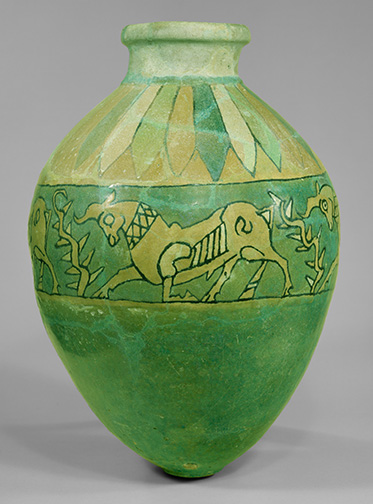 (2) Vessel with Frieze of Kneeling Bulls_55.121.2