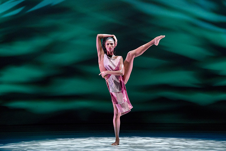 AAADTs Jacqueline Green in Judith Jamisons Divining. Photo by Paul Kolnik