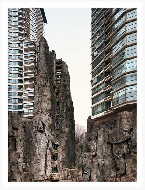 Extremer _ Bas Princen, Valley (Jing'an), 2007. Inkjet, digital print