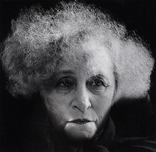 12. Madame d'Ora, Writer Colette (Sidonie-Gabrielle Colette), 1954. © Nachlass Madame d'Ora, Museum für Kunst und Gewerbe Hamburg