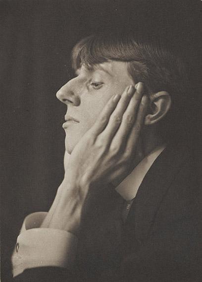 Frederick Evans - Portrait of Aubrey Beardsley
