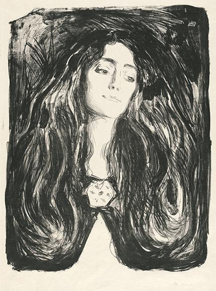 Munch_12_The_Brooch_Eva_Mudocci