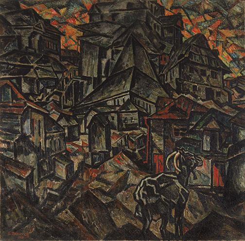 Destruction of the Ghetto, Kiev,