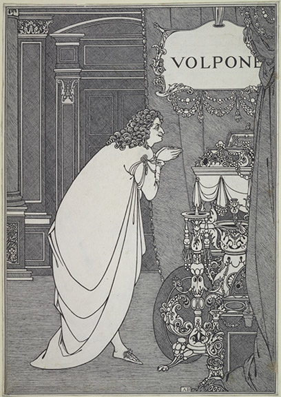 Volpone Adoring his Treasure 1898